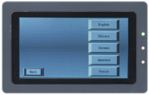 screen language setting