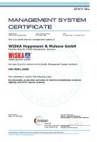 wiska certifikat